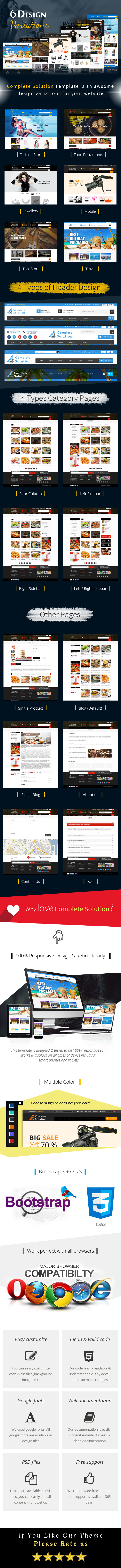 Complete Solution - Multipurpose eCommerce Html Template - 1