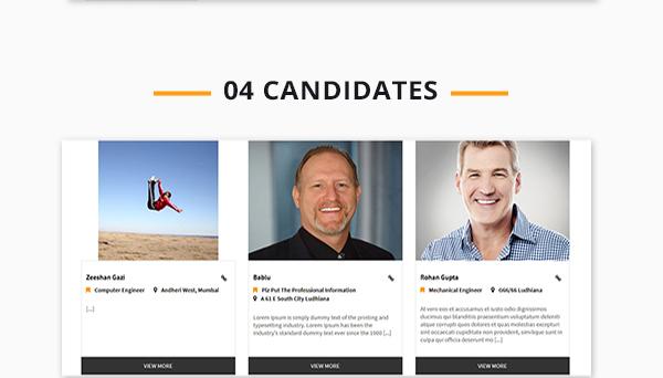 Job Portal Script candidate list view